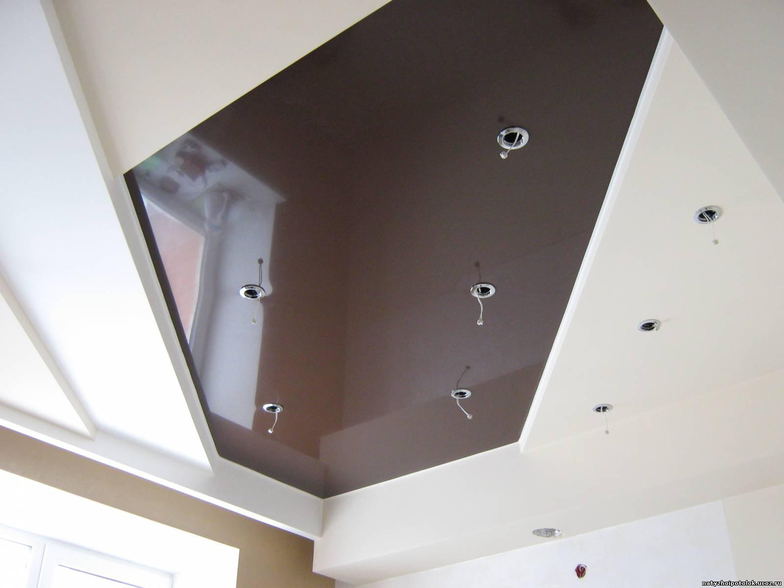 Шоколадный потолок фото